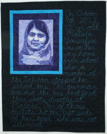 Malala Yousafzai © Nicki Allen