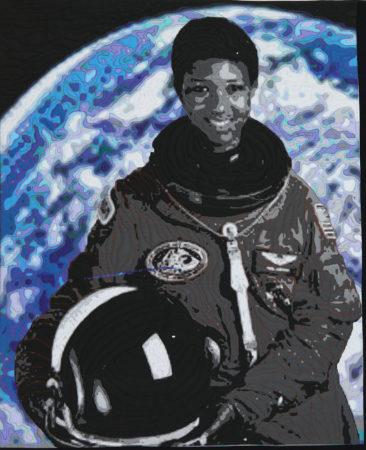 HerStory…Astronaut Dr. Mae Jemison © Deb J Berkebile