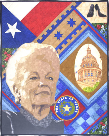 Texas Governor Ann Richards © Teresa P Bristow