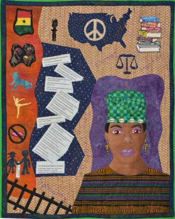 She Speaks to My Heart and Soul: Maya Angelou © Diane Dresdner