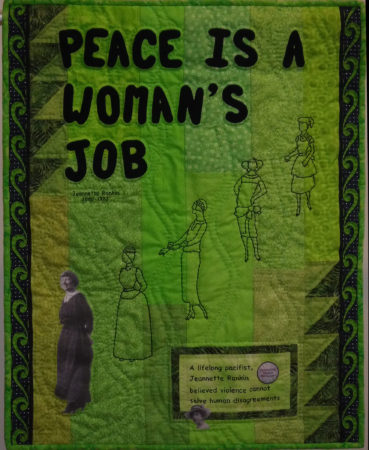Peace Is A Woman's Job © Connie Harris Farrington