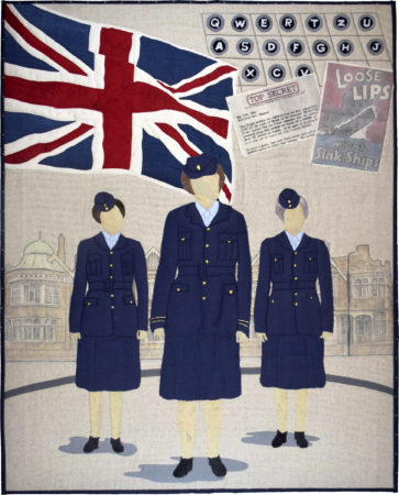The Bletchley Girls © Alison Laurence