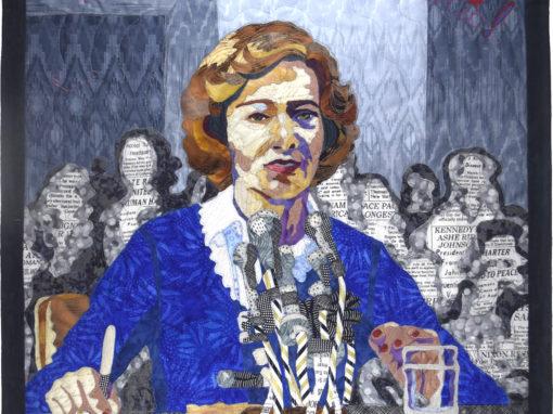 Rosalynn Carter Explains to the Senate